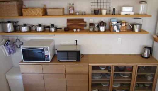 キッチンの食器棚(カップボード)について考える。