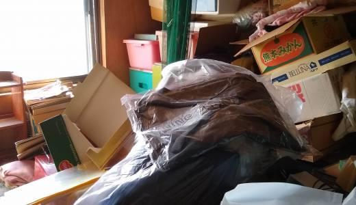 ゴミ溜めの部屋掃除